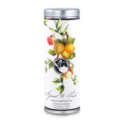 VX-8180-ApricotPeach - Tea Can Company Apricot Peach- Skinny Tin