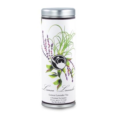 VX-8180-LemonLavender - Tea Can Company Lemon Lavender-Skinny Tin