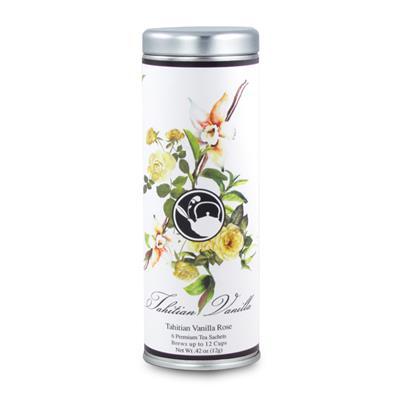 VX-8180-TahitianVanilla - Tea Can Company Tahitian Vanilla- Skinny Tin