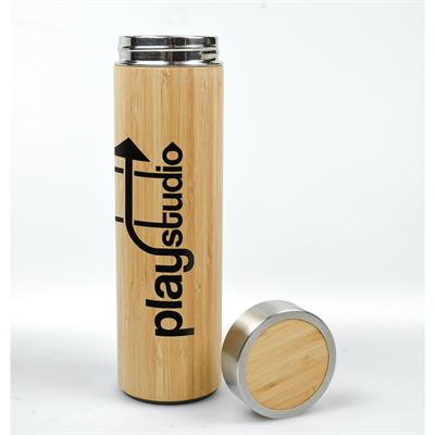 VX-5080 - Bamboo Insulated Bottle