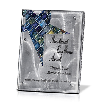 DPLT044M - Metal Stainless Plaques