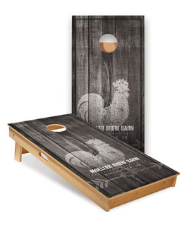 Promo Products, Custom Full-Size ACA Cornhole Boards, Custom Full-Size ACA Cornhole Boards