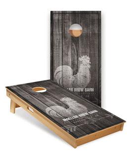Promo Products, Custom Full-Size ACA Cornhole Boards, Custom Full-Size ACA Cornhole Boards