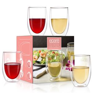 Epare Double-Wall Wine Glass (Set of 4)