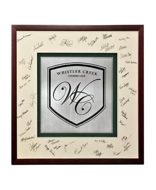 Framed Awards, FS-731, Heritage Signature