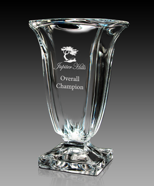 Crystal Trophy Cups, FS-841-12, Magma Vase