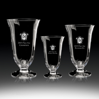 Crystal Trophy Cups, FS-849, Tremolo Vase