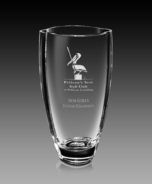 Crystal Trophy Cups, FS-862-10, Grazioso Vase