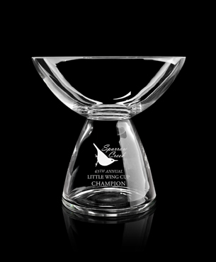 Crystal Trophy Cups, FS-865, Quantum Bowl