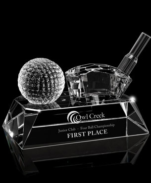 , FS-934, Crystal Golf Award