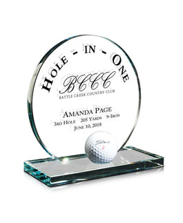 Hole-In-One, FS131M-GOLF, Jade Hole-in-One