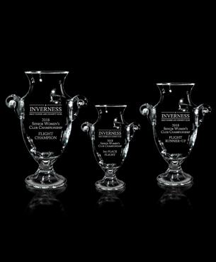 Crystal Trophy Cups, G10, Tenby Trophy