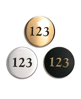 Plates, LT-RD, Round Number Disks