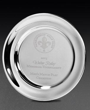 Metal Trophy Cups, M3505, Presentation Plate