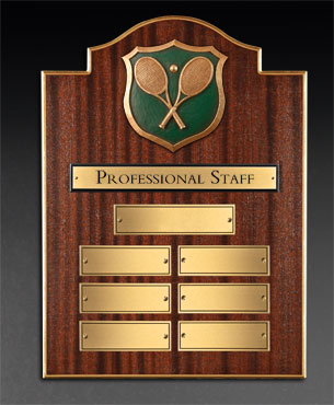 Panels, PS-Series-Plaque, Federal Bonnet Top Professional Staff Plaque