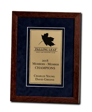 Framed Awards, SE-Vertical, Heritage Collection - Vertical