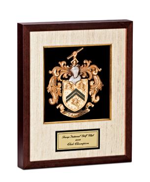 Framed Awards, SSB001, Silk Mat Shadowbox