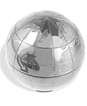 WORLD GLOBE PAPERWEIGHT