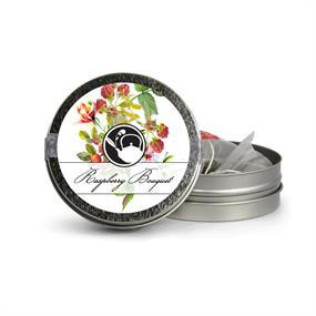 Raspberry Bouquet Mini Tin
