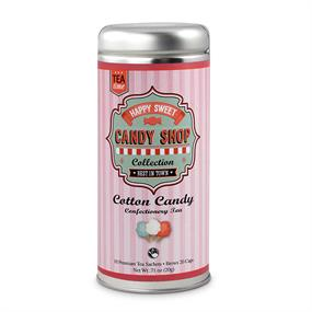 Tea Can Company Cotton Candy- Skinny Tin