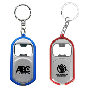 Triple Play Keychain
