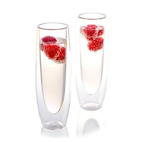 Epare Double-Wall Champagne Glass (Set of 2)