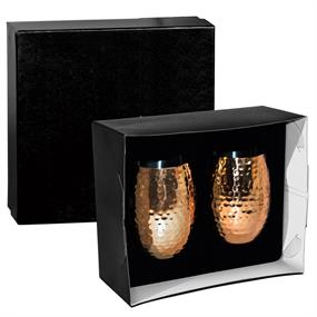 Cheers Double Wall Tumbler (2-Piece Gift Set)