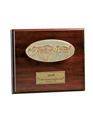 Framed Awards, WM002, Rectangular Plaque