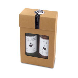 Upgraded Gift Box Option For Tall Tin Tea Cans
