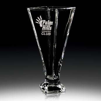 FS-842-11V - Quadro Crystal Vase