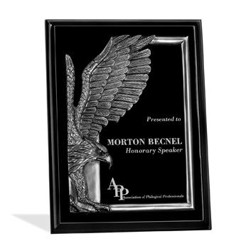 PL016LBM - Wood Plaques Eagles