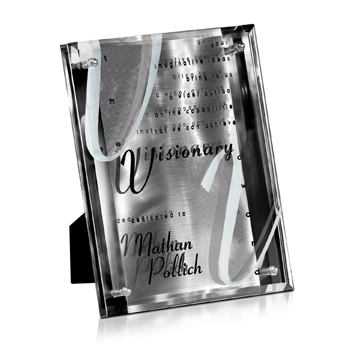 9PL4022ST-57 - Metal Stainless Plaques