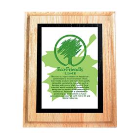 WOP5S-Wood Plaques