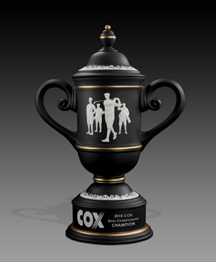 Ceramic Trophy Cups, CGC2-VINTAGE, Men's Vintage Golf Cup