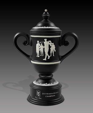 Ceramic Trophy Cups, CGC26, Men's Vintage Golf Cup