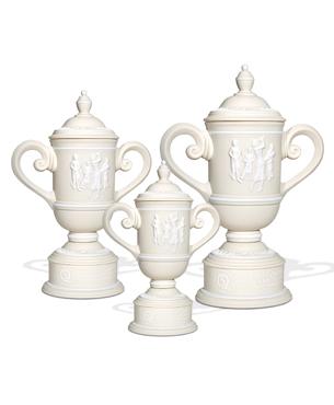 Ceramic Trophy Cups, CGC30, Women's Vintage Cup Trophy