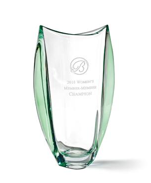 Crystal Trophy Cups, FS-1001, Orbit Vase