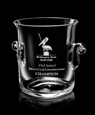 Crystal Trophy Cups, FS-848, Legato Ice Bucket