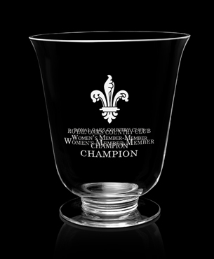 Crystal Trophy Cups, FS-851, Rubato Vase