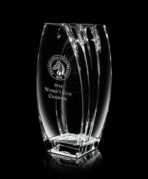 Crystal Trophy Cups, FS-864-10, Celesta Vase