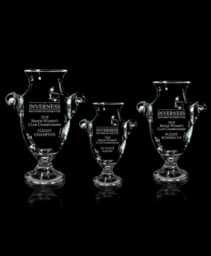 Crystal Trophy Cups, G10, Tenby Trophy