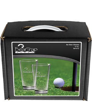 Drinkware Packaging, GB2-2-PUB, Pub Glasses Easy Carry Box