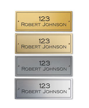 Plates, GT-PLATE, Gold/Silver Tone Plates (Gold Tone)