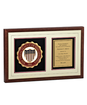 Framed Awards, HDSB001, Dual Opening Matted Shadowbox