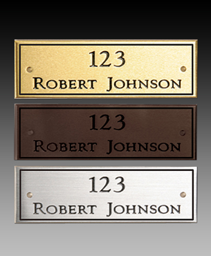 Plates, SB-Plate, Premium Solid Brass or Pewter Plates