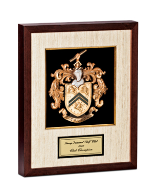 Framed Awards, SSB001, Silk Mat Shadowbox