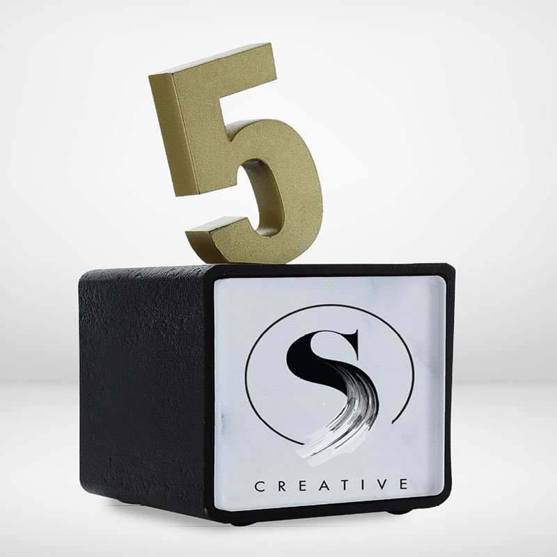 AwardLab | Cubed | Congratulate | Number 5