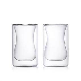 Epare Double-Wall Turkish Tea Cup (Set of 2)