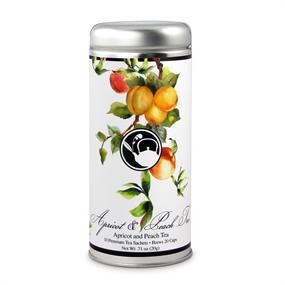 Tea Can Company Apricot & Peach Tree Tall Tin